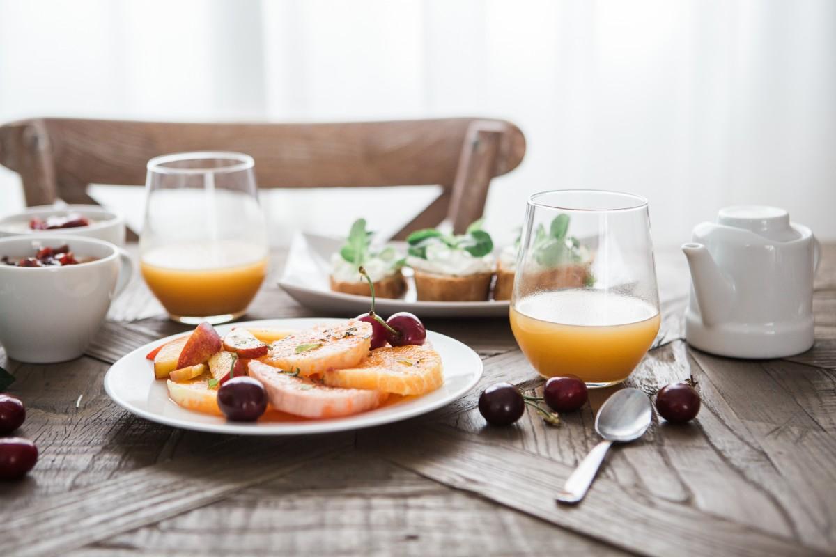 petit déjeuner léger