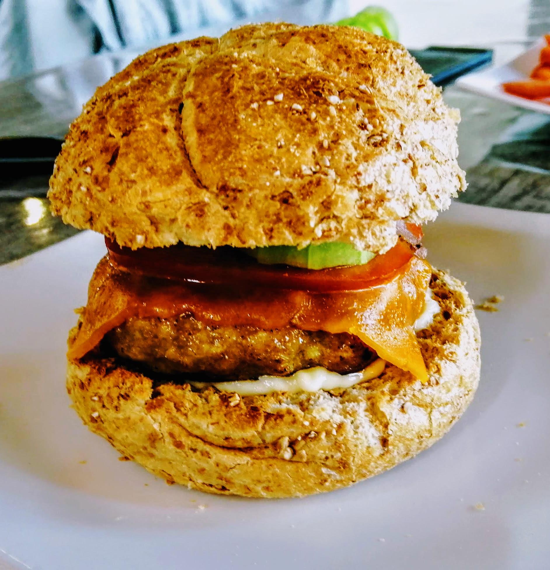 Hamburger faible en calorie
