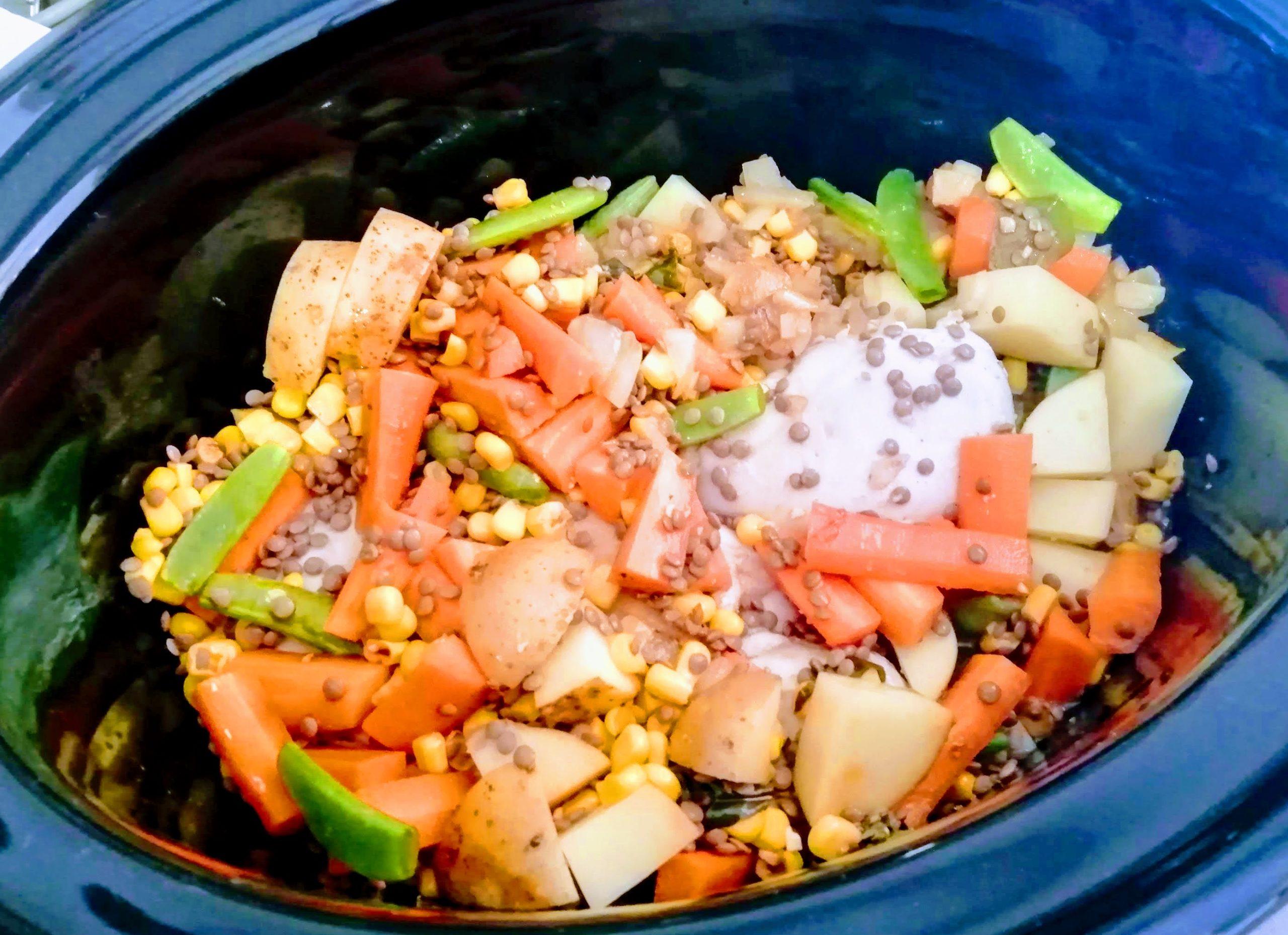 Idée de repas à la mijoteuse : un ragoût de poulet revisité - MANGEZ MIEUX, VIVEZ MIEUX ! Menus ...